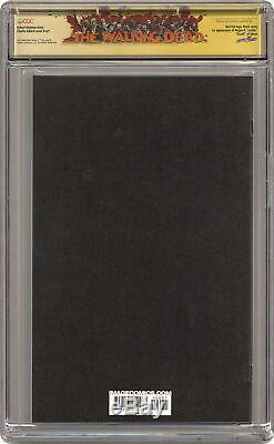 Walking Dead #100L Adlard Red Foil Variant CGC 9.8 SS 2012 0932870004 1st Negan