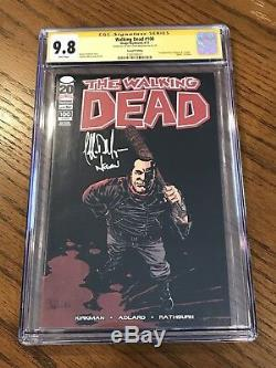 Walking Dead #100 1st Negan CGC 9.8 SS Jeffrey Dean Morgan