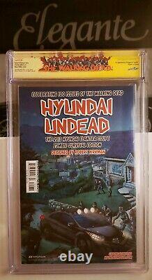 Walking Dead 100 CGC SS 9.8 1st Negan & Lucille Kirkman Signed RARE WD CGC label