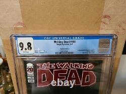 Walking Dead #100 Red Foil CGC 9.8 by Robert Kirkman and Charlie Adlard