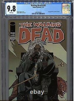 Walking Dead #108 CGC 9.8 first appearance of Ezekiel 92 132 27 19
