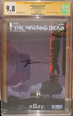 Walking Dead #193 RARE Comicon Edition CGC 9.8 SS Signed by Robert Kirkman