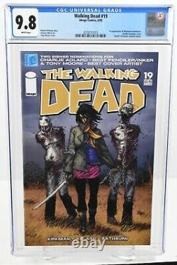 Walking Dead #19 (2005) CGC 9.8 1st Appearance Michonne Hawthorne Kirkman Image