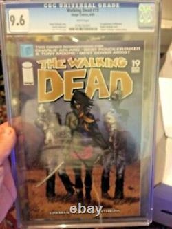 Walking Dead 19 CGC 9.6 (1st Michonne)