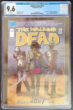 Walking Dead #19 CGC 9.6 Image Comics 2005 Michonne