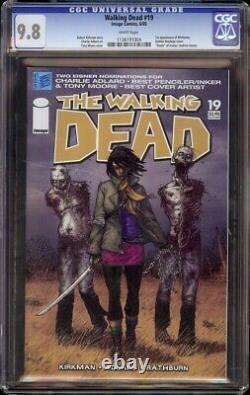 Walking Dead # 19 CGC 9.8 White (Image, 2004) 1st Michonne