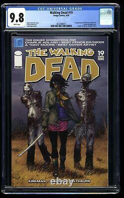 Walking Dead #19 CGC NM/M 9.8 White Pages 1st Michonne
