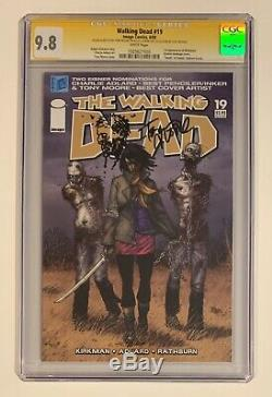 Walking Dead #19 Cgc Ss 9.8 Tony Moore Sketch From Personal Collection 193