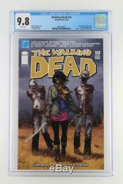 Walking Dead #19 -MINT- CGC 9.8 NM/MT Image 2005 1st App Michonne