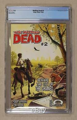 Walking Dead 1A 1st Printing CGC 9.2 2003 0962654019