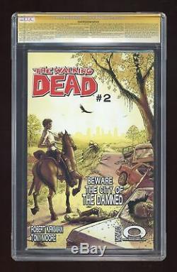 Walking Dead 1A 1st Printing CGC 9.6 SS 2003 0174921004