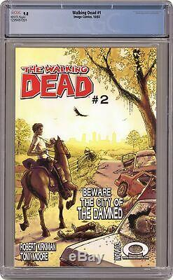 Walking Dead 1A 1st Printing CGC 9.8 2003 1299497001