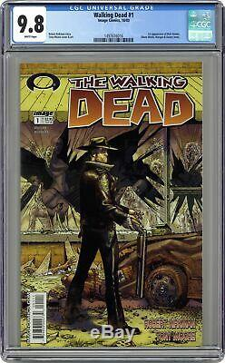 Walking Dead 1A 1st Printing CGC 9.8 2003 1497616016