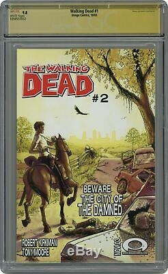 Walking Dead 1A 1st Printing CGC 9.8 SS 2003 1058550002