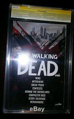 Walking Dead #1 10th Anniversary Variant CGC SS 9.8 Signed X2 by Kirkman&Moore