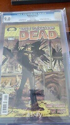 Walking Dead 1 1st Print RARE CGC 9.0