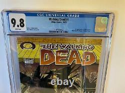 Walking Dead #1 2003 CGC 9.8