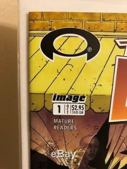 Walking Dead #1,2,3,4,5,6,7,8,9,10,11 Kirkman Cgc 1st Print Signed Tony Moore