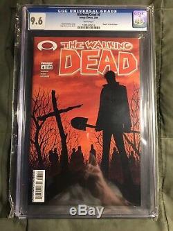 Walking Dead 1 9.6 FULL RUN Lot (1-193) 3-8 9.6 & 19 9.6 (8 Total Graded)