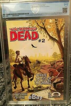 Walking Dead #1 CBCS 9.8 Image 2003 1st App of Rick Grimes Modern Grail
