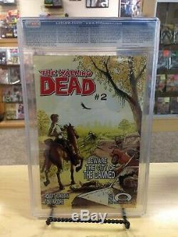 Walking Dead #1. CGC 9.4