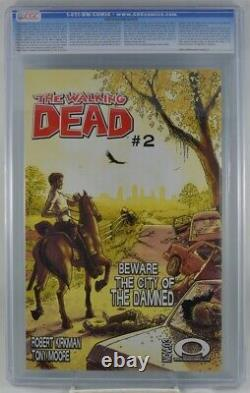 Walking Dead #1 CGC 9.4 1st Appearance Rick Grimes 2003