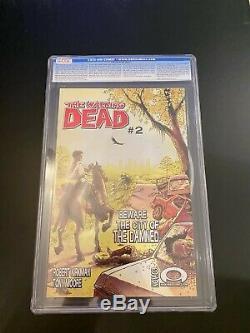 Walking Dead # 1 CGC 9.4 NM 1st Print 1st Rick Grimes 2003 Robert Kirkman