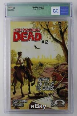 Walking Dead #1 CGC 9.4 NM Image 2003 1st App of Rick Grimes! Signed