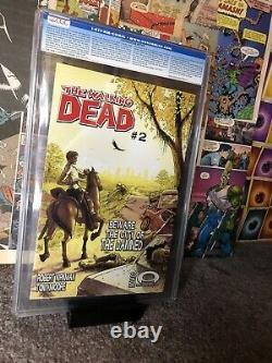 Walking Dead 1 CGC 9.4 White Label