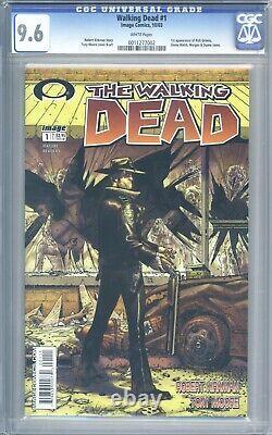 Walking Dead #1 CGC 9.6 1st Print 1st App of Rick Grimes Amazing Looking Book