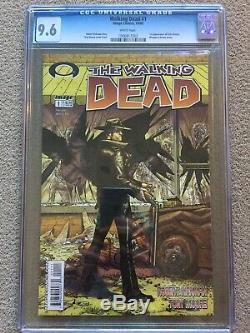 Walking Dead #1 CGC 9.6 1st Print Rare 1st Rick Grimes