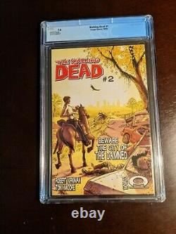 Walking Dead #1 CGC 9.6 First Print