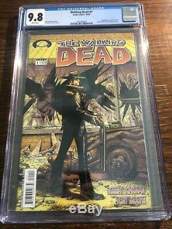 Walking Dead 1 CGC 9.8 Black Image
