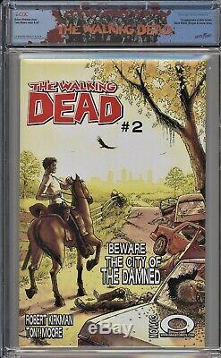Walking Dead 1 CGC 9.8 Black Label 1st Rick Grimes Robert Kirkman Tony Moore