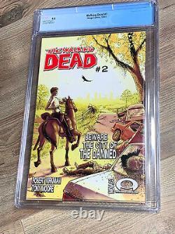 Walking Dead 1 CGC 9.8 NM/MT Image 2003 BLACK LABEL RARE