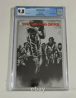 Walking Dead # 1 CGC 9.8 The Last Wine Edition Variant RARE Kirkman NEW Case