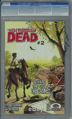 Walking Dead #1 CGC 9.8 (W) 1st app Rick Grimes, Shane Walsh, Morgan & Duane