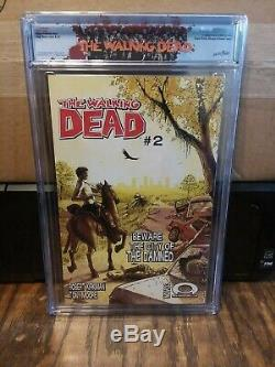 Walking Dead #1 CGC 9.8 with Rick Label (NEW CASE)