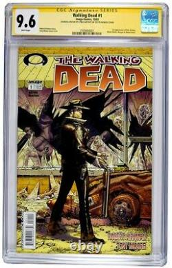 Walking Dead #1 CGC Graded 9.6 BLACK LABEL With Easter Eggs on rear Image 10/03