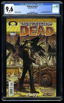 Walking Dead #1 CGC NM+ 9.6 White Pages 1st Rick Grimes