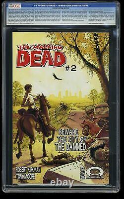 Walking Dead #1 CGC NM/M 9.8 White Pages 1st Rick Grimes