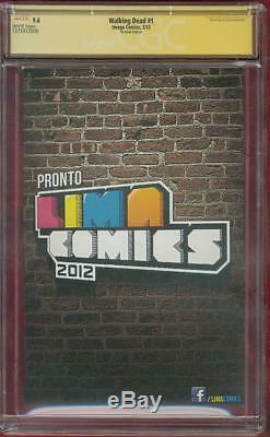 Walking Dead 1 CGC SS 9.6 Robert Kirkman Peru Variant 1 TV Show no 8 AMC