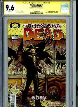 Walking Dead #1 Cgc 9.6 First Print! Signed By Kirkman