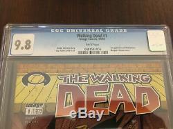 Walking Dead 1 Cgc 9.8
