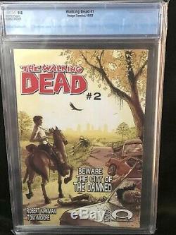 Walking Dead #1 Cgc 9.8