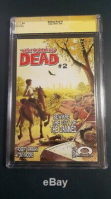 Walking Dead 1 Cgc 9.8 10/03 Ss R. Kirkman 1st App Of Rick Grimes