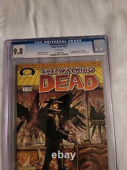 Walking Dead 1 Cgc 9.8. 1st Appearance Of Rick Grimes