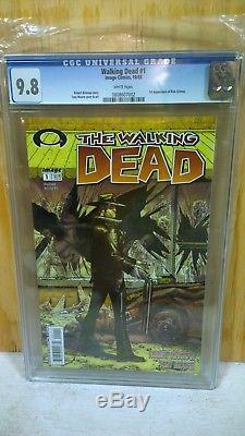 Walking Dead 1 Cgc 9.8 1st Issue Image Comics 1st Print