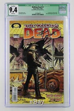 Walking Dead #1 Image 2003 CGC 9.4 1st App of Rick Grimes & Shane Walsh