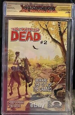Walking Dead #1 Image Comic 2003 CGC 9.6 1st App Rick Grimes Signed by Kirkman